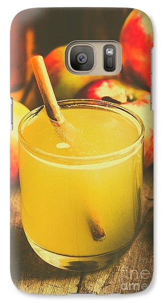 Still Life Apple Cider Beverage Galaxy S7 Case by Jorgo Photography - Wall Art Gallery