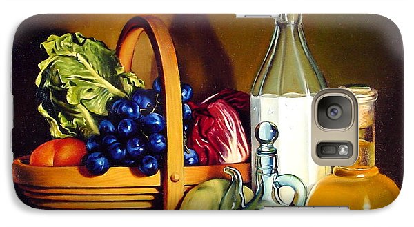 Still Life In Oil Galaxy Case by Patrick Anthony Pierson