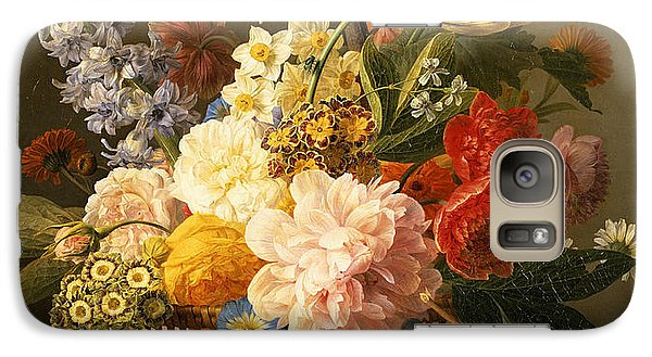 Still Life With Flowers And Fruit Galaxy S7 Case