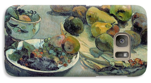 Still Life With Fruit Galaxy S7 Case by Paul Gauguin