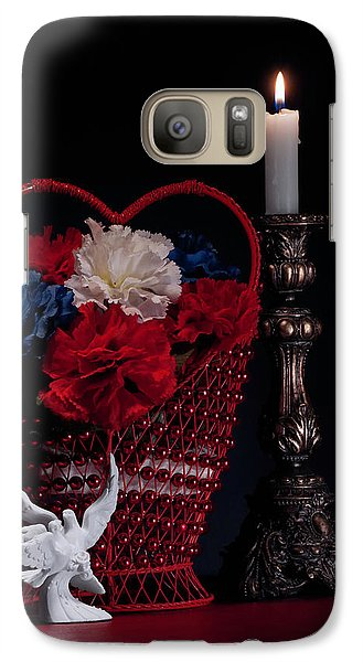 Still Life With Lovebirds Galaxy S7 Case