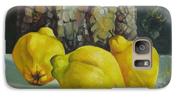 Galaxy Case featuring the painting Still Life With Quinces by Elena Oleniuc