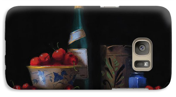 Galaxy Case featuring the painting Still Life With The Alsace Jug by Barry Williamson
