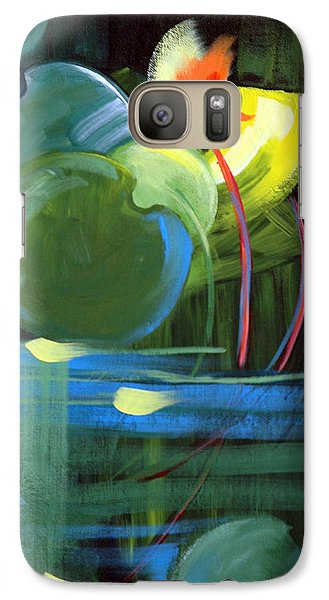 Galaxy Case featuring the painting Still Water by Suzanne McKee