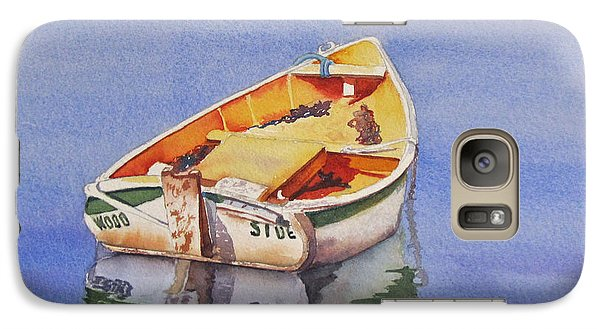 Galaxy Case featuring the painting Still Waters by Judy Mercer