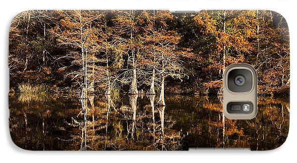 Galaxy Case featuring the photograph Still Waters On Beaver's Bend by Tamyra Ayles