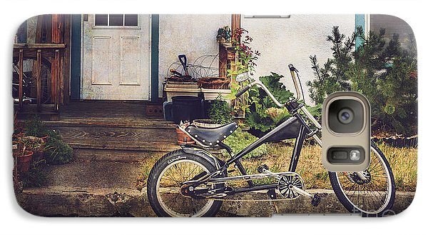 Galaxy Case featuring the photograph Sting Ray Bicycle by Craig J Satterlee