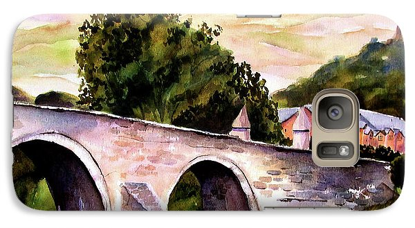 Galaxy Case featuring the painting Stirling Bridge by Marti Green