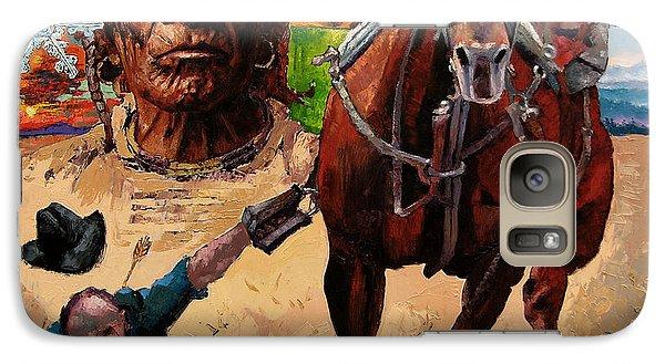 Horse Galaxy S7 Case - Stolen Land by John Lautermilch