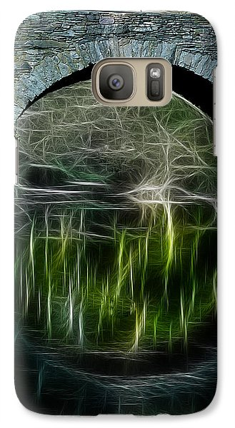 Galaxy Case featuring the photograph Stone Arch Bridge - Ny by EricaMaxine  Price