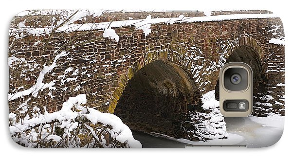 Galaxy Case featuring the photograph Stone Bridge At Bullrun Virginia by Heidi Poulin