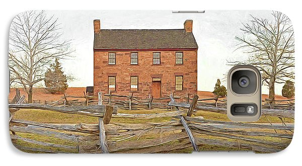 Stone House / Manassas National Battlefield / Winter Morning Galaxy S7 Case