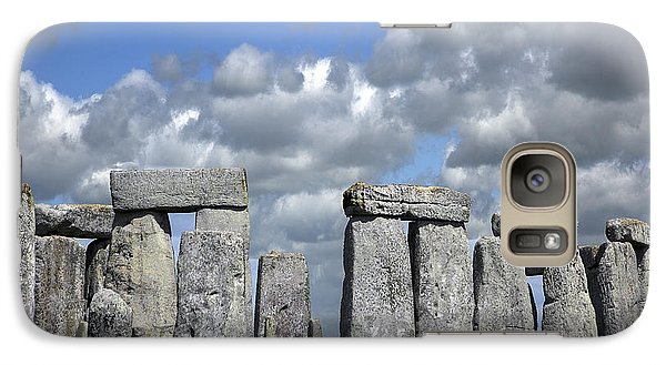 Galaxy Case featuring the photograph Stonehenge by Elvira Butler