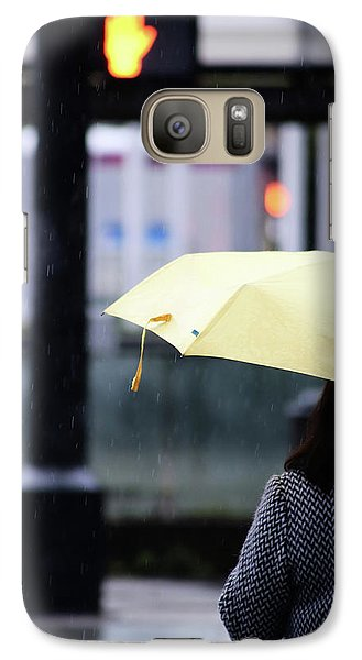 Galaxy Case featuring the photograph Stop To Thoughts  by Empty Wall