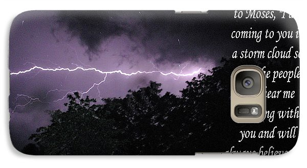 Galaxy Case featuring the photograph Storm Cloud by Robyn Stacey