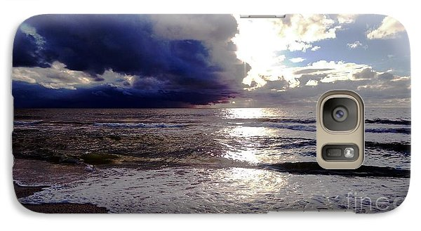 Galaxy Case featuring the photograph Storm Clouds 1 by Vicky Tarcau
