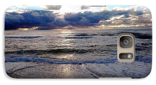 Galaxy Case featuring the photograph Storm Clouds 2 by Vicky Tarcau