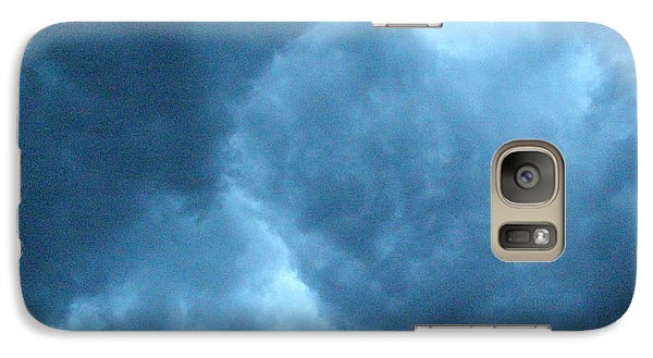 Galaxy Case featuring the photograph Storm Clouds by Angie Rea