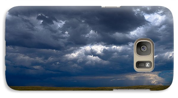 Galaxy Case featuring the photograph Storm Clouds To The East by Monte Stevens