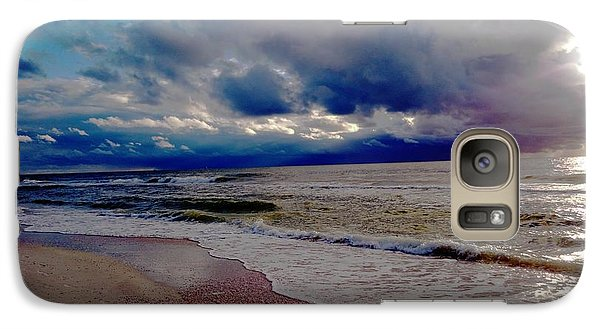 Galaxy Case featuring the photograph Storm Clouds by Vicky Tarcau