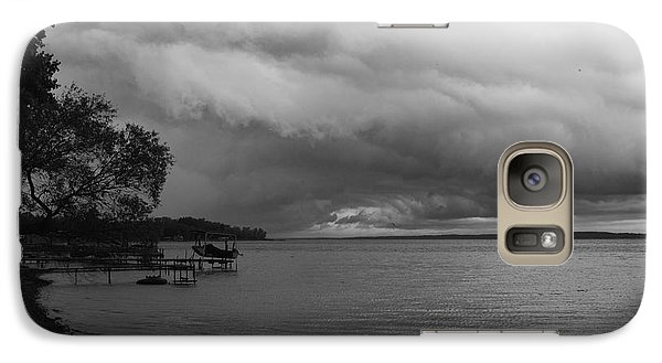 Galaxy Case featuring the photograph Storm Clouds by William Norton