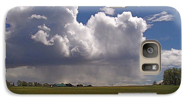 Galaxy Case featuring the photograph Storm Happening by John Norman Stewart