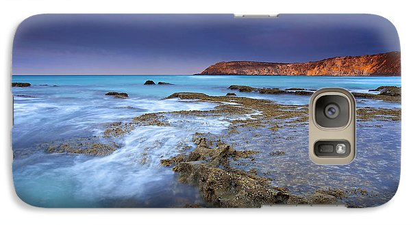 Kangaroo Galaxy S7 Case - Storm Light by Mike  Dawson