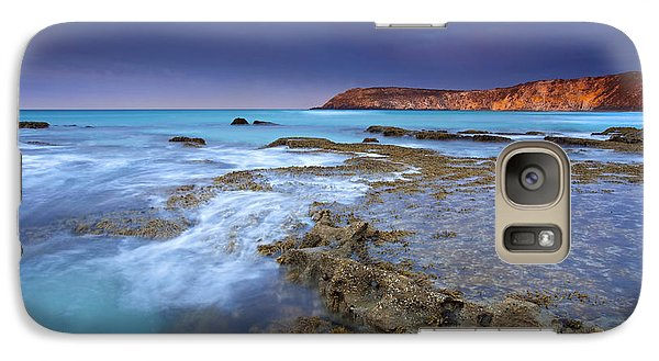Storm Light Galaxy S7 Case by Mike  Dawson