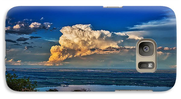 Galaxy Case featuring the photograph Storm On The Horizon by James Menzies