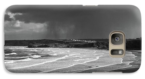 Galaxy Case featuring the photograph Storm  Over The Bay by Nicholas Burningham