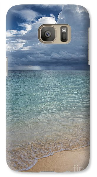 Galaxy Case featuring the photograph Storm Over The Caribbean Sea by Yuri Santin