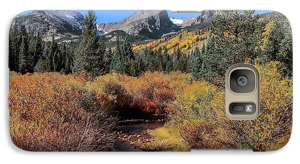 Galaxy Case featuring the photograph Storm Pass Trail by Perspective Imagery