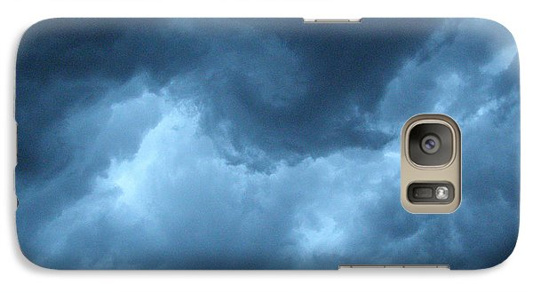 Galaxy Case featuring the photograph Storm Rolling In by Angie Rea