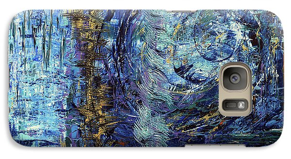 Galaxy Case featuring the painting Storm Spirits by Cathy Beharriell