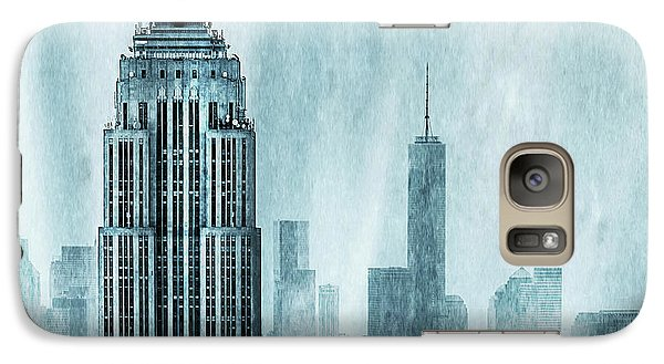 Empire State Building Galaxy S7 Case - Storm Troopers by Az Jackson