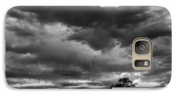 Galaxy Case featuring the photograph Storms Clouds Passing by Monte Stevens