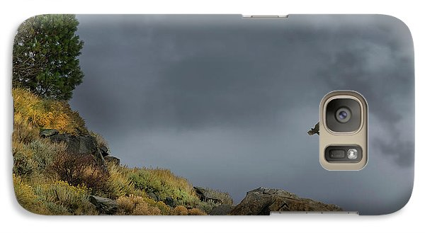 Galaxy Case featuring the photograph Stormy Flight by Frank Wilson