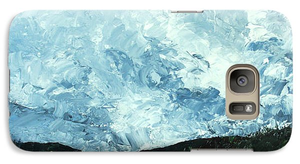 Galaxy Case featuring the painting Stormy by Jane Autry