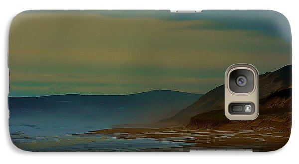Galaxy Case featuring the photograph Stormy Morning by Blair Stuart