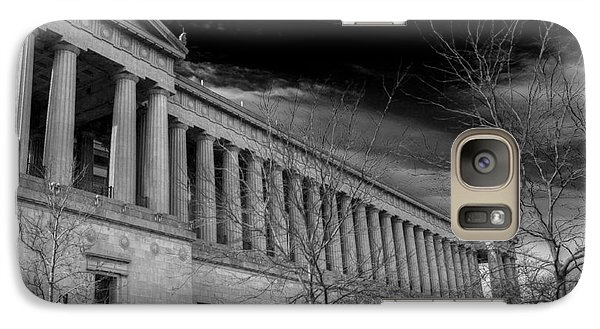 Soldier Field Galaxy S7 Case - Stormy Soldier by David Bearden