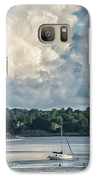 Stormy Sunday Morning On The Navesink River Galaxy S7 Case