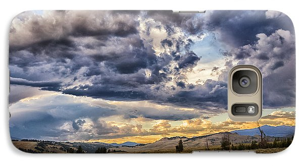 Stormy Sunset At Blacktail Plateau Galaxy S7 Case