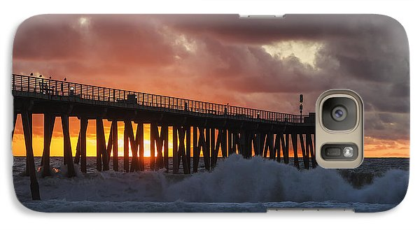 Stormy Sunset Galaxy S7 Case