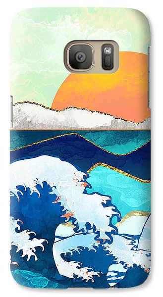 Landscapes Galaxy S7 Case - Stormy Waters by Spacefrog Designs