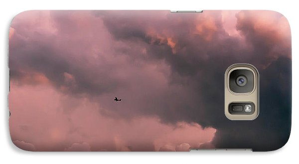 Galaxy Case featuring the photograph Stormy Weather by Carolyn Dalessandro