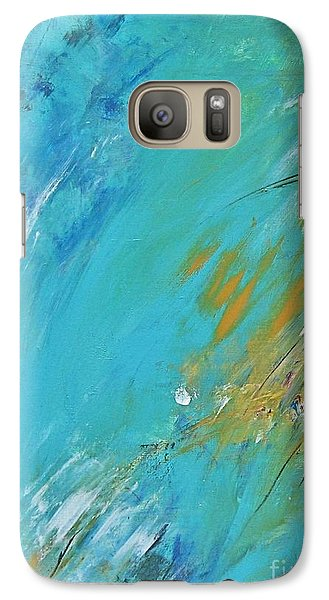 Galaxy Case featuring the painting Stormy Weather by Diana Bursztein