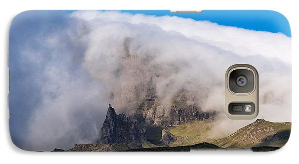 Galaxy Case featuring the photograph Storr In Cloud by Gary Eason