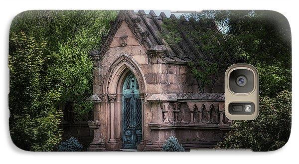 Strader Mausoleum Galaxy Case by Tom Mc Nemar