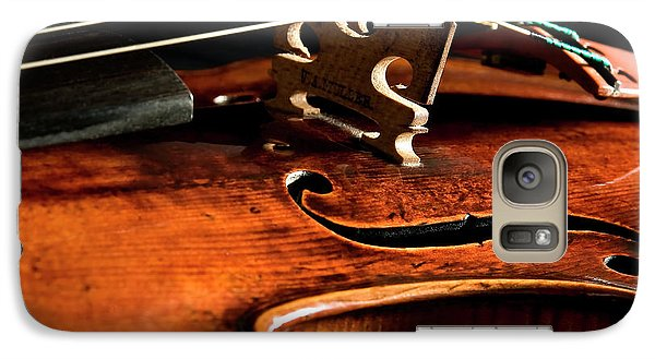 Galaxy Case featuring the photograph Stradivarius by Endre Balogh
