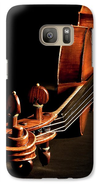 Galaxy Case featuring the photograph Stradivarius From The Top by Endre Balogh